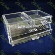 acrylic make up cases,nail acrylic displays