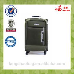 Superior quality wholesale eminent luggage built -in style wholesale eminent luggage suitcase black color wholesale eminent suit