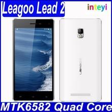 Totally Original 5 inch mtk6582 quad core 3g cheap unlocked android smart phones leagoo lead2