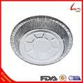 8 pollici rotonda usa e getta eco- amichevole foglio di alluminio contenitore termico per alimenti