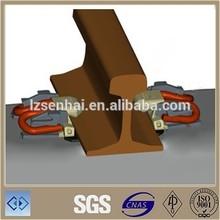 Railway steel track uic60 rail