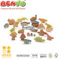 Dinosaure blocs figurines d'animaux en bois
