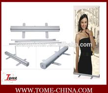 Aluminum flex roll up banner stand, full aluminum Banner stand