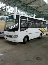 25 Seats Passenger Bus With 120hp Diesel Engine Export to Africa
