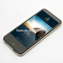 Latest ultra-thin external portable power bank metal shell li-polymer cell 6000mah costomized advertising mobile power bank