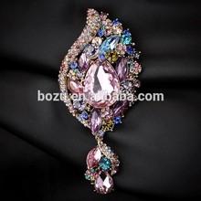 2015 new custom design rose gold plating top grade brooch in China