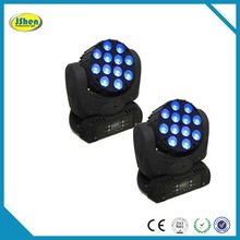 LCD display,Flash,Zoom in/out 12*10w 4in1 RGBW Led Moving Head Lighting