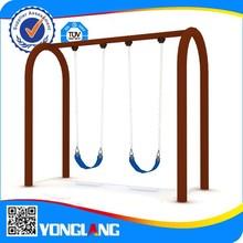 Plastic garden park iron swing