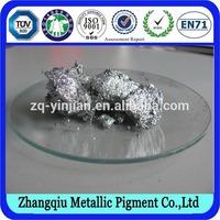 High Alnminium Content,,China Water-based Printing Ink Aluminium Metallic Pigment Paste for plastic film ZK-908