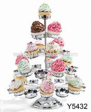 Metal Wedding Cake And Cupcake Stand For Wedding Cakes