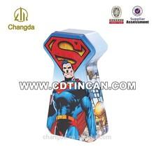 Hangzhou manufactured wholesale gift tin box