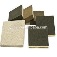 La nitidez abrasivo esponja/mano bloque de lijado