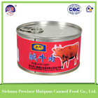 Wholesale china factory beef canned food products halal meat wholesale