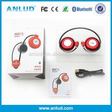 Top Popular Super CE/RoHs Certificates Magift3 Stereo Sport Bakc-hang Colorful wireless headphones custom