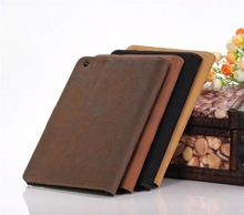 Luxury Retro Book kick Stand PU Leather Case Cover for Apple iPad 2/3/4,50pcs/lot