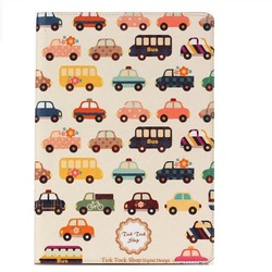 For iPad Air 2/iPad 6 PU Leather Printing Case