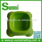 Wholesale dog bowl plastic pet bowl,bowl feeder for the pet
