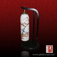 Artist design novel chinese lamp porcelain led lamp
