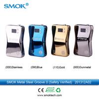 Safety Version 3800mah Large Capacity Mod Voltage Adjustable e-cig Mod SMOK Groove II