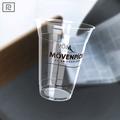 R450y-p 15oz pla biodegradables 450mlimpresos personalizados- de moldeo porinyección de plástico de la copa