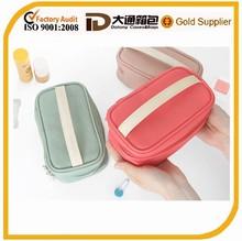 Monochromatic personalized cosmetic case