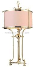 Best selling in 2014 hotel copper table lamp hotel desk lamp