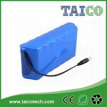 Power tool li-ion battery 18650 pack 11.1v 4400mah