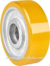2014 hot sale polyurethane wheel for truck china supplier