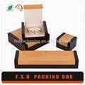 elegante e novo design por grosso de madeira caixa de fósforos