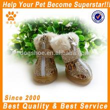 JML Beautiful Hot Sale pet warm shoes winter boot Yellow/Orange pet supply dog winter shoes