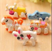 Lovely animal shape puzzle eraser