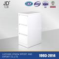 2014 caliente venta oficina anti-inclinación 3 cajón del pedestal de acero