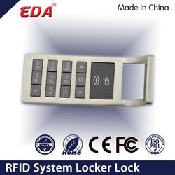Zinc Alloy Smart Digital Access Control Locker Lock Electronic Safe Lock for Locker