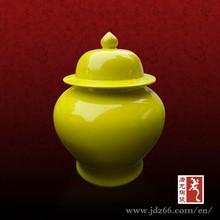 Jingdezhen ceramic apothecary jar glass herb storage jars