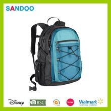 2015 popular leisure 600D polyester backpack from China supplier