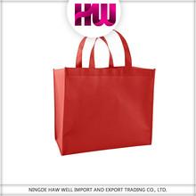 Non-woven promotional high quality nonwoven shopping bag