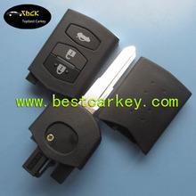 TOPBEST modified flip remote key cover for mazda 2 buttons car flip key blank mazda