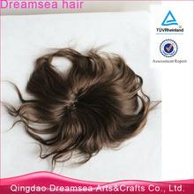 Fishnet toupee 5x7 straight 5inch short bald wigs for men virgin human hair malaysian