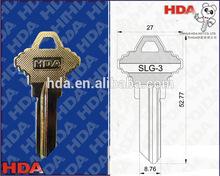 2mm brass blanks door key