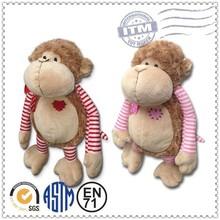 Hot sale! Small type cute stuffed monkey