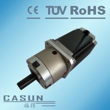 China manufacturer 57mm stepper motor nema 23 gearbox ratio 1:4.25 torque 5.2N,4.2a