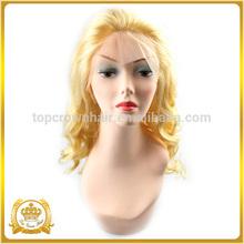 QingDao Top Crown human hair wig designer custom-made lace wig braids