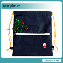 New Nice Drawstring Backpack With Color-matched String Light