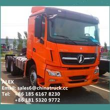 Mercedes Benz Technology North Benz 6x4 Weichai Engine 480hp Trailer Trucks
