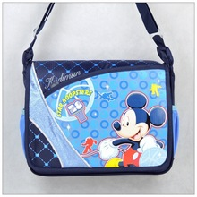 2014 wholesale branded cartoon kids school bag