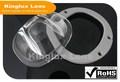 Profesional de fabricantes de led de luz de calle con lente 140*120degree accesorios de vidrio óptico lente de la bola de diámetro máximo 106mm