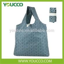 2015 New Popular printing shopping Bag Nylon Foldable Shopping Bag