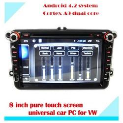 Android 4.2.2 VW car dvd player Fabia Caddy Tiguan Passat Gran Touran 8 inch touch screen car dvd player