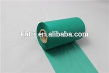 Emerald green barcode wash/resin ribbon for argox printer use