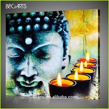 2014 New Buddha Design Printing Painting on Canvas